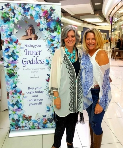 Deb and I book launch